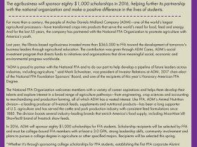 ADM Sponsors Scholarships