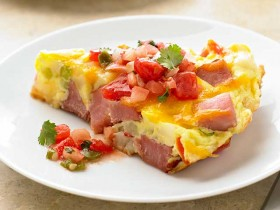 Ham & Ranch Potato Fritatta