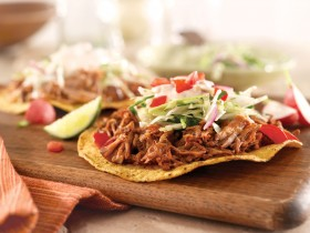 Pulled Pork Tostadas