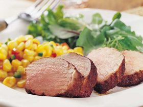 Southwest Spiced Roast Pork Tenderloin