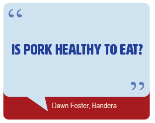Is pork healthy to eat?