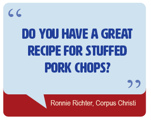 Do you have a great recipe for stuffed pork chops?