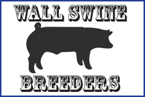 Wall Swine Breeders, San Angelo